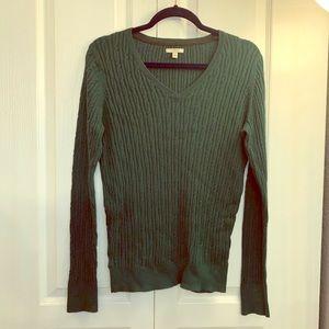 EUC Sonoma green sweater M